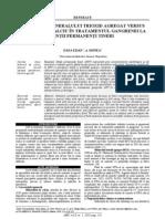Utilizarea MTA vs CaOH2 in Trat Gg La DPtineri