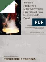 Inclusão Produtiva e Desenvolvimento Sustentável para Quilombos do Brasil