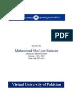 Mc080400906 Shafiq Report