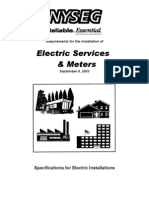 Electric Services Meters