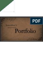 Susmitha Portfolio
