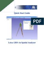 Quick Start Guide Leica 1203