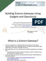 OGCE Gadget Container Open Social