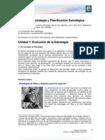 Lectura 1 - Estrategia y Planificación Estratégica