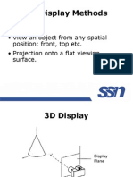 3D Display Methods