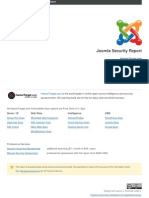 Joomla Security Report Suitinteak.com