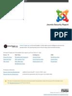 Joomla Security Report Suitinteak.com
