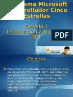DCE1 IntroduccionMicrosoft.net 1