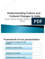 Lec 4- Understanding Culture and Cultural Changes in India