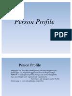 Person Profile