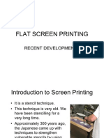 Flat Screen Printing Development