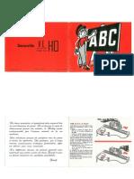 ABC Du Train Miniature - Jouef 1967
