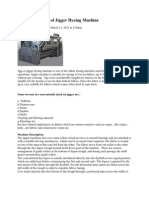 Working Process of Jigger Dyeing Machine
