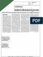 Casini Inutile Chiedere Le Dimissioni Al Governo - Repubblica del 05.08.11