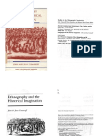 Ethnography and the Historical Imagination Studies in the Ethnographic Imagination
