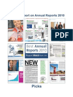 Annual Report on Annual Reports 2010 Picks
