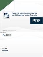 Portal 2.0_Bringing Social Web 2.0 and SOA Together for the Enterprise