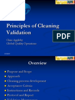Cleaning Validation Pres