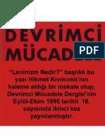 Leninizm Nedir? - Hikmet Kıvılcımlı