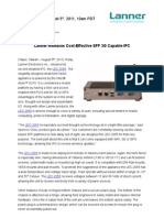 Lanner Releases Cost-Effective SFF 3G Capable IPC