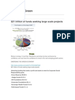 $21 Trillion of Funds Seeking Large Scale Projects