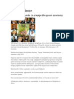 G20 Bankers Unite to Emerge the Green Economy