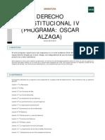 Derecho Constitucional IV (Alzaga)[1]