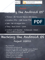 Hacking the Android OS