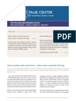 Taub Center for Social Policy Studies in Israel  Bulletin  Volume 3, Number 3,  May 2011