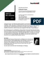 Pressemappe - Kolja Alexander Bonke - Erfolg Bei Frauen - humboldt Verlag PickUp Guide