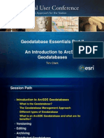 2011 Feduc Geodatabase Essentials II