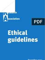 Ethics of Research