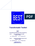 BEST Transformer Test Procedures Tr
