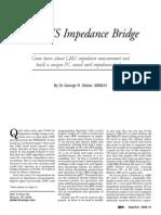 N LMS Impedance Bridge
