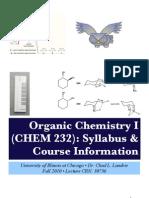 Chem 232 Syllabus Chad