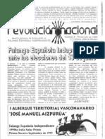 Revolución Nacional (FEI Euskalerría) nº 9