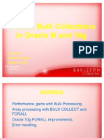 Crotty Plsql Bulk Collect Forall