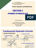 Power Hydraulics-Fundamental Ccts 2009
