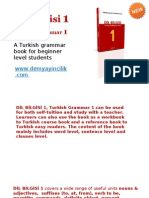 Turkish Lesson Books Beginner-Dilbilgisi1