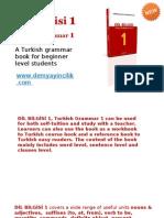Turkish Lesson Books Beginner-Dilbilgisi1