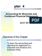 Accounting for Branches and Combined FS