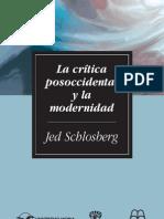 18.La crítica posoccidental y la modernidad