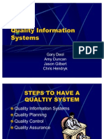Quality Information Systems