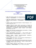 Avantajele Si Dezavantajele Integrarii Romaniei in UE