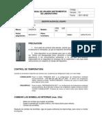 Manual de Usuario - Nevera FRS U20