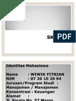 Presentation SKRIPSI Wiwik