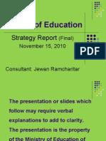 MOE Strategy Report Nov 2010