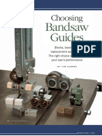Bandsaw Guides