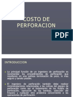 Tema 11 - Costo de Perforación