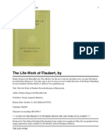 The Life-Work of Flaubert